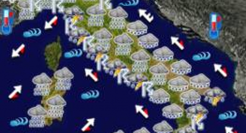 Allerta Meteo Sud Italia: tempesta di pioggia in Sicilia, da venerdì miglioramenti